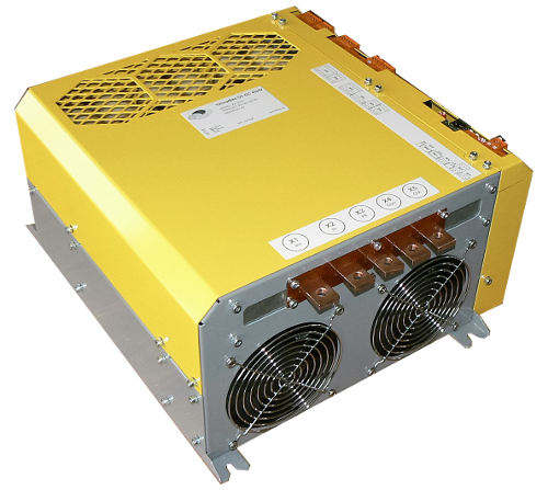 High-power, high-voltage 40kW, 450V DC/DC converter, Zekatex